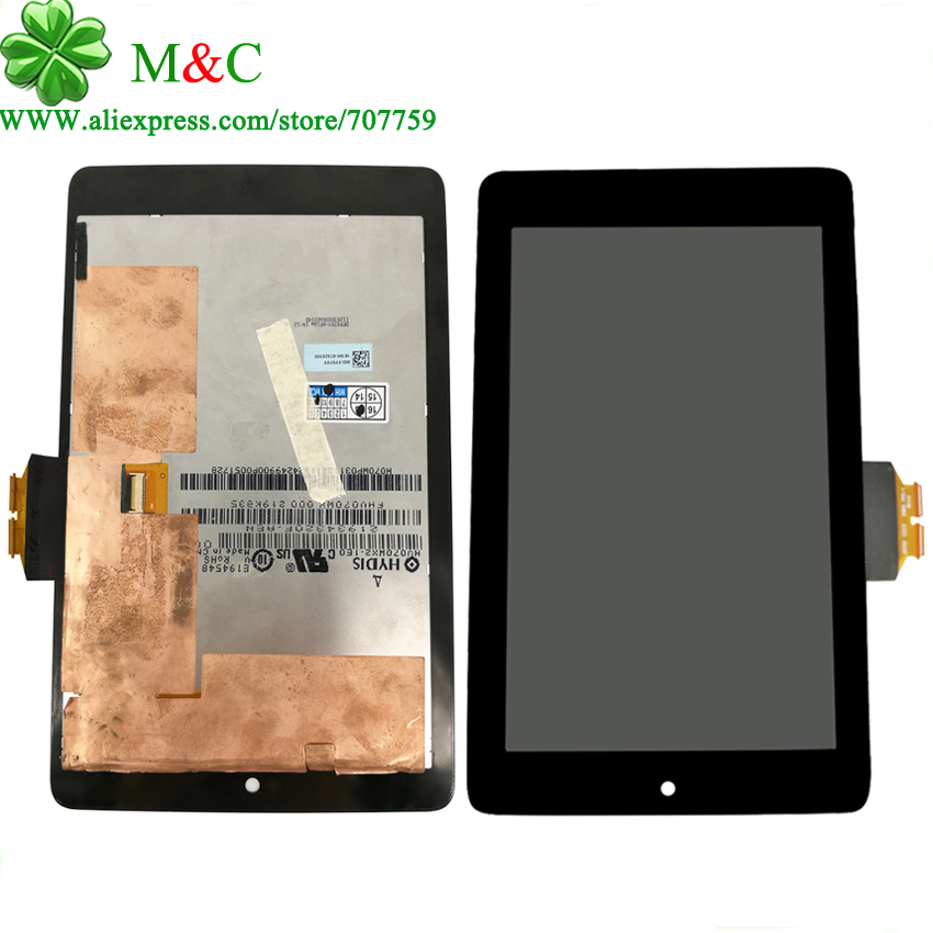 OEM 2012 LCD Touch Panel for ASUS Google Nexus 7 1st Gen nexus7 2012 ME370 ME370T Display Touch Screen Digitizer Panel Assembly