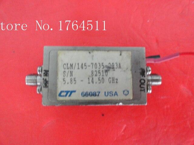 [BELLA] CTT CLM/145-7035-203A 5.85-14.5GHZz SMA Supply Amplifier