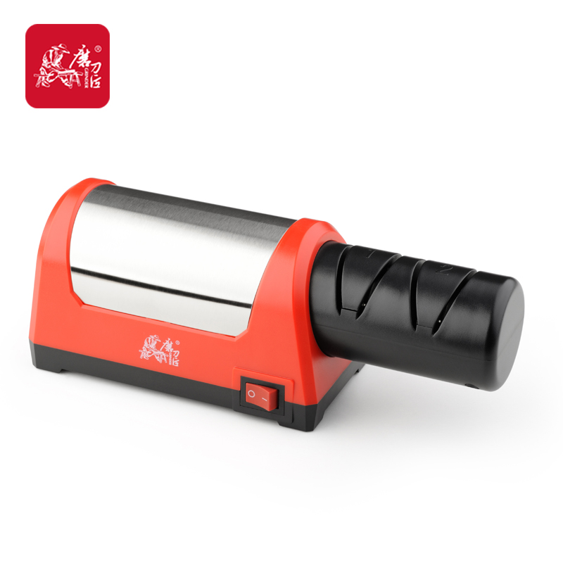 GRINDER two stages electric diamond font b knife b font sharpener also suit for cermaic font