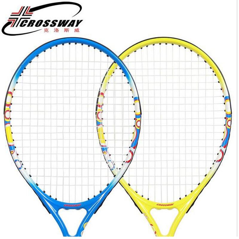 Raquette de Tennis Crossway en Fiber de carbone 21 pouces raquettes équipées de sac taille 4 raquetas de tenis pour enfants 4-6 ans