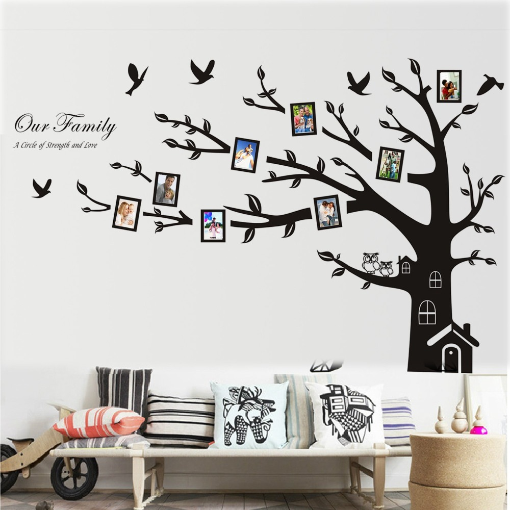 giant family tree wall sticker vinyl art wall art sticker family download