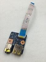 WZSM Original DC jack USB Audio board for Lenovo E430 E530 E535 USB audio board LS-8133P