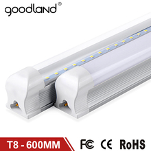 Goodland LED Bulb Tube T8 600mm 2ft LED Tube Light 10W LED Integrated Tube 220V 240V LED Lights Lamp Lighting Clear/Milky Cover