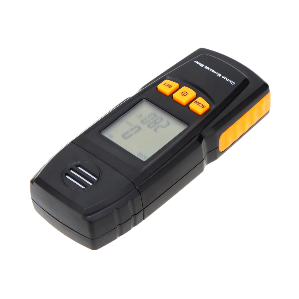 GM8805 Portable Handheld Carbon Monoxide Meter High Precision CO Gas Detector Analyzer New