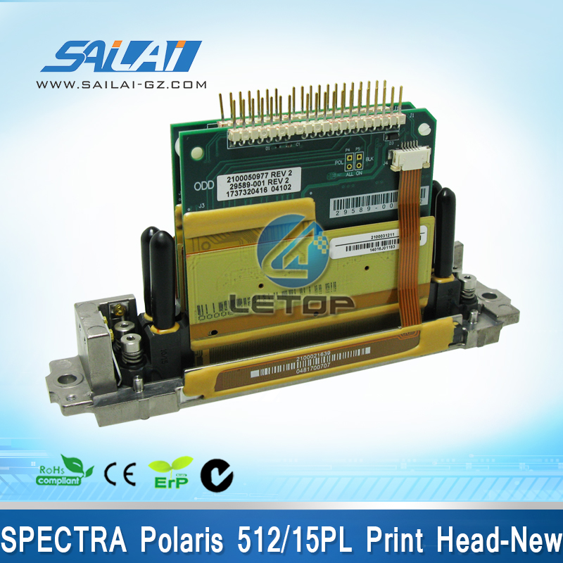 Free shipping!!100% Original&Brand New!!spectra polaris printhead 512 15pl for solvent printer gongzheng spectra skywalker pci card for gongzheng printer