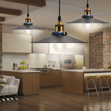 Винтажный металлический железный подвесной светильник потолочный ретро люстра светильник для гаража гостиной ресторана бара декоративный внутренний светодиодный светильник