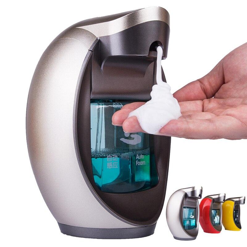 Automatique distributeur de savon mousse Intelligente mousse handsanitizer automatique distributeur de savon Mur monté Haut de Gamme distributeurs de savon 400 ml