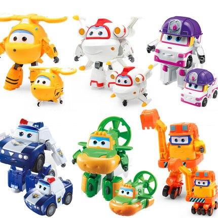 Ailes 15 Cadeaux Figurines Jouet Abs Saison 5 Robot Enfants Avions Transformation Cm Super Déformation Pour Jouets 8nXw0OPk
