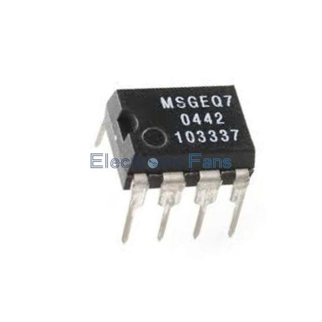 US $2 17 |MSGEQ7 Band Graphic Equalizer IC MIXED DIP 8 MSGEQ7 Best  selling-in Integrated Circuits from Electronic Components & Supplies on