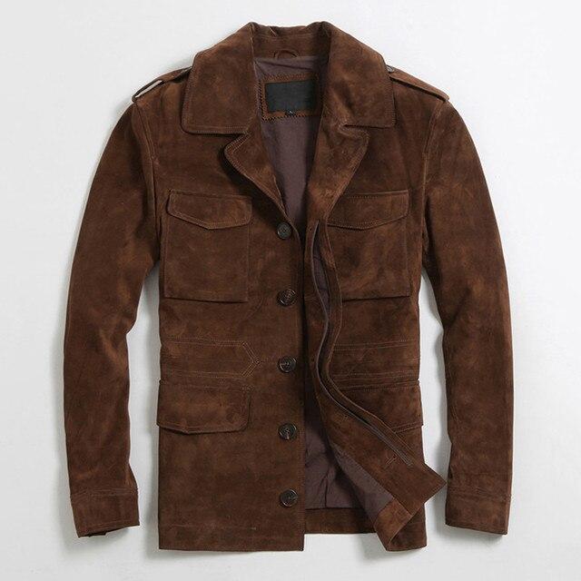 Buy mens suede jacket