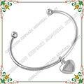 CMB5024 60 MM DIY joyas pulsera de Acero Inoxidable Con cenizas de cremación urna encantos del corazón de Los Brazaletes para las mujeres Jewlery de La Manera