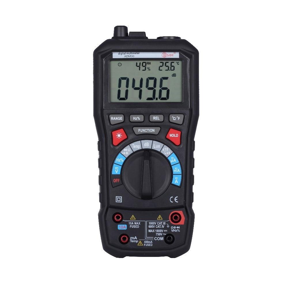 все цены на High Quality 5 in 1 Digital Multimeter MASTECH MS8229 Noise Illumination Temperature Humidity multimeter tester онлайн