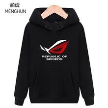 GEEK hoodies oyuncular cumhuriyeti hoodies bilgisayar ekipmanı fanlar hoodie erkekler rahat hoodie 2019