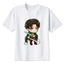 Attack On Titan Levi Ackerman White T Shirt