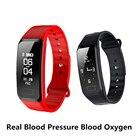 HUACP R1 Blood Oxygen Smart Bracelet Blood Pressure Smart Wristband Pedometer Heart Rate Waterproof Band VS For Xiaomi mi2 band