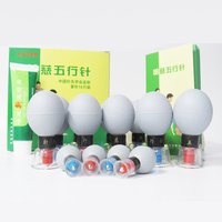 New 18PCS Household Vacuum Haci Magnetic Therapy Acupressure Suction Cup TCM Acupuncture And Moxibustion Cupping Set
