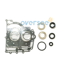 Aftermarket 63V-W0001-01 GASKET,UPPER CASING Kit Replace For 15HP 9.9HP Parsun Hidea Yamaha Outboard Engine
