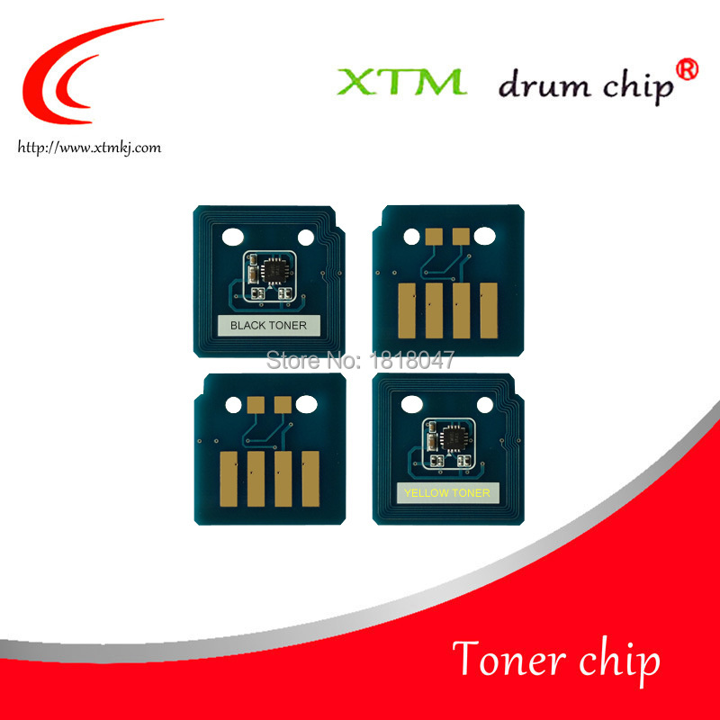 Compatible 006R01509 006R01512 006R01511 006R01510 toner chip for Xerox WorkCentre 7525 7530 7535 7545 7556 reset