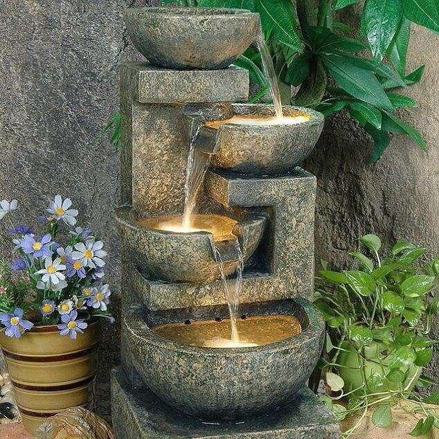 Achetez en gros feng shui fontaine d 39 int rieur en ligne for Grossiste decoration interieur
