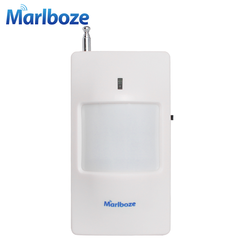 New 1pcs 433MHz Wireless Infrared detector PIR Motion Sensor for GSM/PSTN Auto Dial Home Alarm System