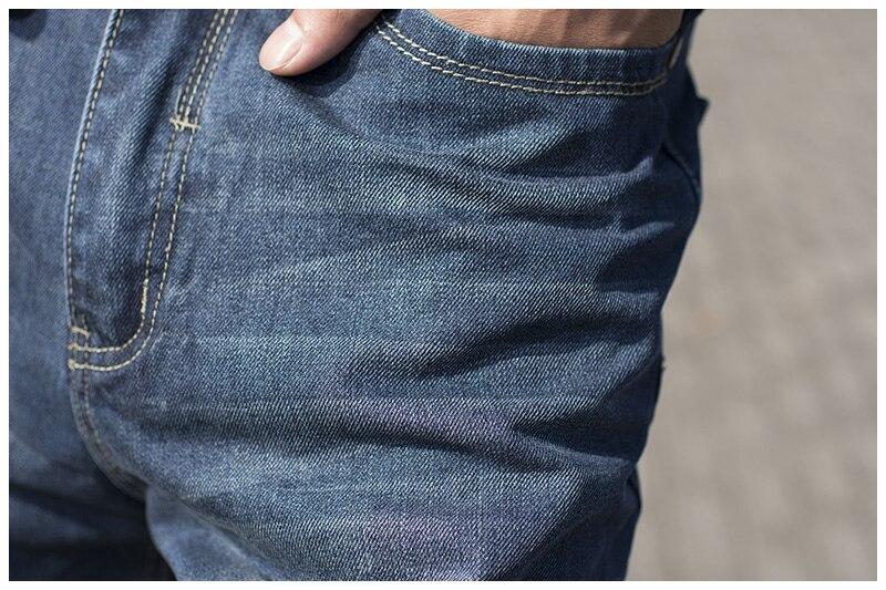 Männliche Hip Hop-Baggy-Jeans für Männer mit breitem Bein - Herrenbekleidung - Foto 3