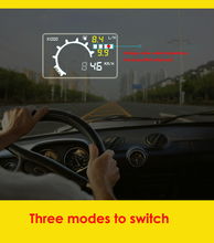 Brand New Multi Car HUD Up Display System Speed & Engine Details Showing II Insert Design for Night & Overspeed & Fresh Driving