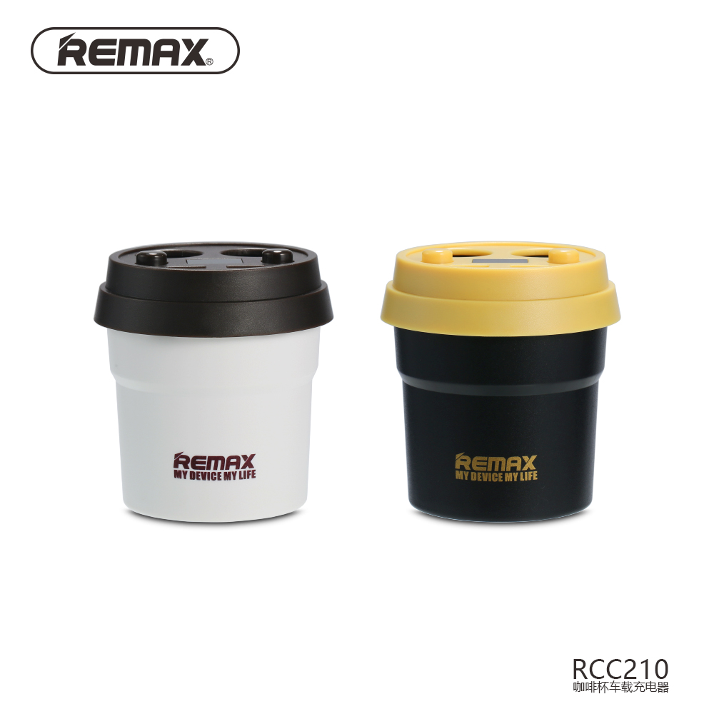 <font><b>Remax</b></font> Car Chargeer CR-2XP 2 USB Ports And 2 Cigarette Lighter 3.1A Fast Charging For Most Smart Phones/Tables/PDA/GPS/MP3/MP4