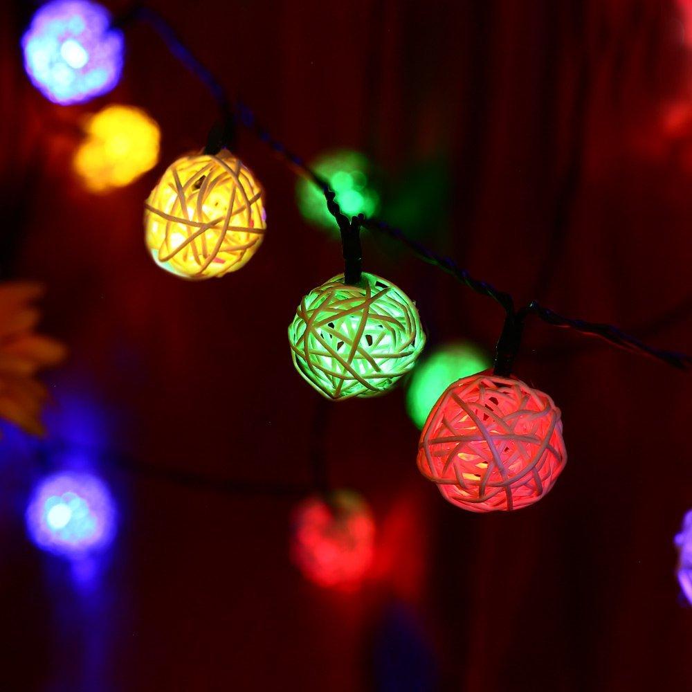 Led Globe String Lights