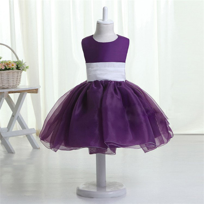 Hellobaby Purple Babyinfant Wedding Dress For Girlsprincess