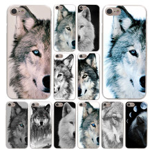 Lavaza Lobo metade Arte Caso para Apple iPhone 4 4S 5C 5S SE 6 6 S 7 8 Plus 10 X Xr Xs Max 8 7 6 Plus Plus Plus(China)