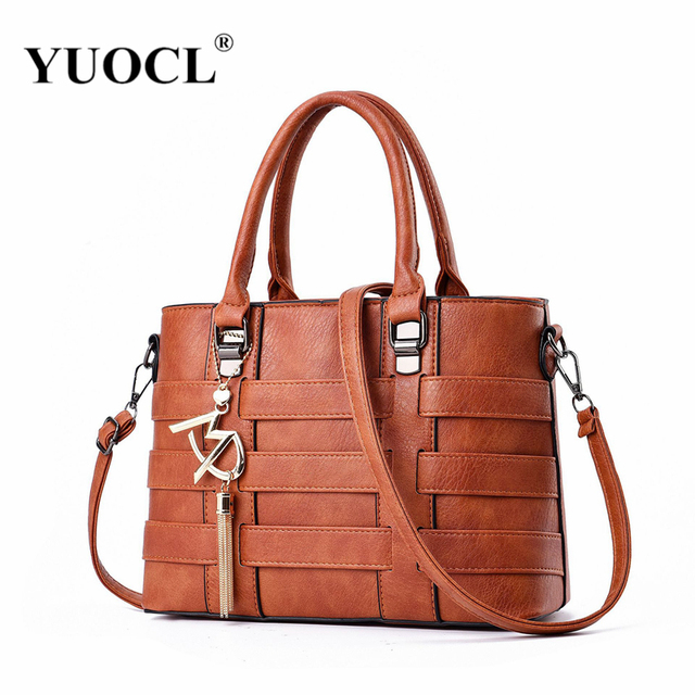 32adfed8e3 2018 Famous Brands Vintage Luxury PU Leather Handbags High Quality Women  Shoulder Bag Designer Crossbody Bags