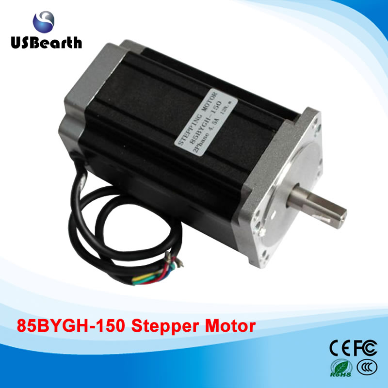 There are 85 sets within 85BYGH-150 stepper motor stepper motor drive 12N.m 4 line for cnc cutting machine toothed belt drive motorized stepper motor precision guide rail manufacturer guideway