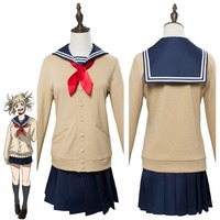 My Hero Academia Boku no Hero Akademia Himiko Toga Cosplay Costume Uniform