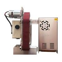 110/220V Mini multifunctional sandpaper Sand belt grinder sharpener polisher sanding electric woodworking equipment 1PC