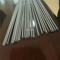 Grade 2 Titanium tube titanium pipe OD3mm thickness 0.5mm Length 1000mm,26pcs free shipping