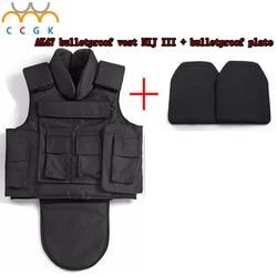 Nij iii full body armor aramid fibers1000d nylon ak47 bulletproof vest bulletproof board 7 62x39 military.jpg 250x250