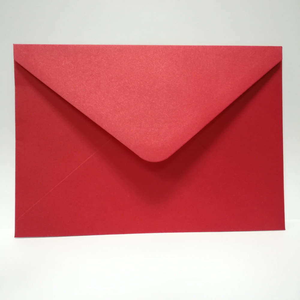 Us 2 34 29 Off 10pcs Pack White Red Ivory Wedding Invitation Card Envelope For Wedding Party Celebration Birthday Engagement Envelope In Cards