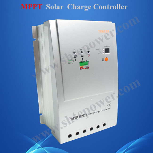 все цены на 40A 12V/24V Auto work MPPT Solar Charge Controller With Max PV Voltage 100V DC tracer 4210 онлайн
