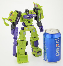 DX9, Heavy Industry, Hulkie Devastator, Mini-cons, War in Pocket,, Decepticon, In stock!!!!