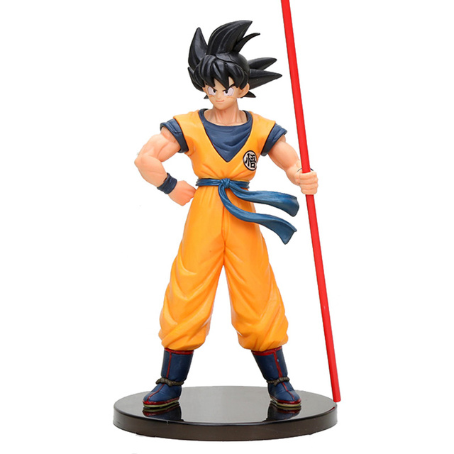 24 centímetros Dragon Ball Son Goku Action Figure Toys Filme Filme Dragon Ball Super O 20th Limitada Figura Modelo Brinquedos presentes de verão