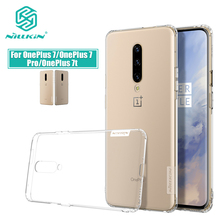 Oneplus 7 Case Nillkin Natuur Clear Soft Silicon Tpu Protector Beschermhoes Voor Oneplus 7T Een Plus 7 7T Pro Behuizing