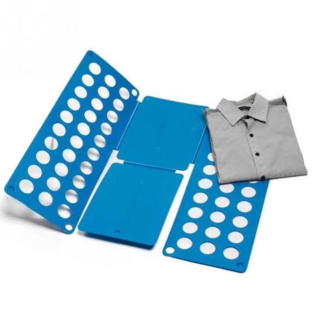 Clothes folder for Men women Adult Shirt Folding Board Flip Fold Shirt Folder Flip Fold Board Quick Press random color
