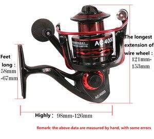 Image 4 - Topline Tackle Carp Fishing Reel Spinning Reel Speed 5.5:1 10+1BB Ball Bearings Left/Right Sea Fishing Wheel Metal Pesca