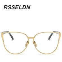 Cat Eye Eyewear Frames Men Clear Lens Glasses Frame Female Hipster Vintage Spectacle Frame Big Eyeglasses Women Brand
