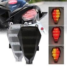 Speedpark мотоцикл задний фонарь хвост тормозной встроенные Сигналы поворота Светодиодная лампа для Yamaha YZF R6 2006 2007