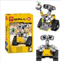 2018 New lele 39023 687Pcs Idea Robot WALLE Model Building Kits Blocks Bricks Children Toys compatible 16003 Kids toys Christ