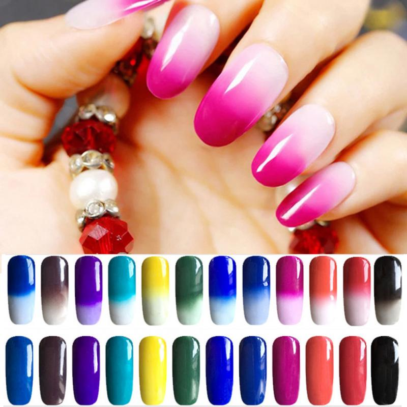 Color Changing Nail Polish Mirror Powder Nail Art