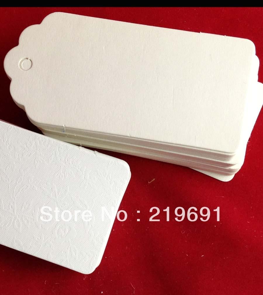 Aliexpress.com : Buy wholesale $0.04/pcs white paper hang tag size ...