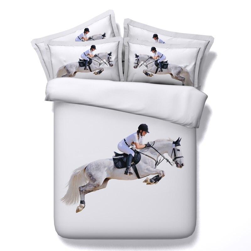 3d Horse Bedding Sets Bed Sheet Duvet Cover Set Bedspreads