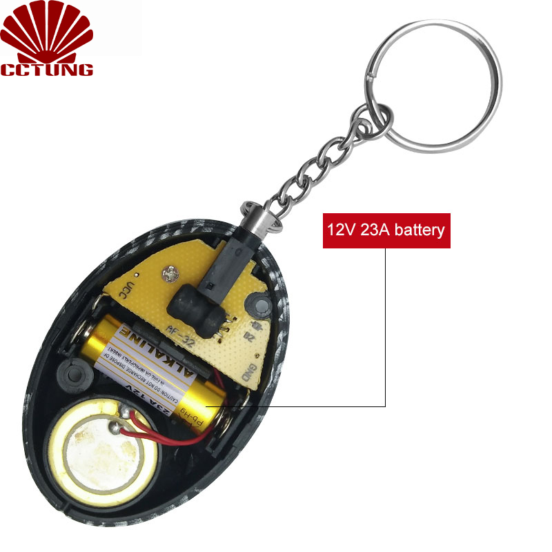 130db Mini SOS Panic Sound Personal Alarm Siren Safe Emergency Personal Alarm Safety Keychain Battery Built-in To Help Scare Off_3
